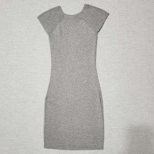 Charlotte Russe Grey Bodycon Dress